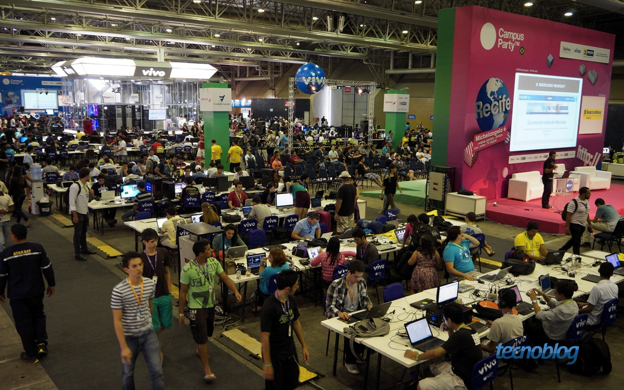 Estamos na Campus Party Digital deste ano!