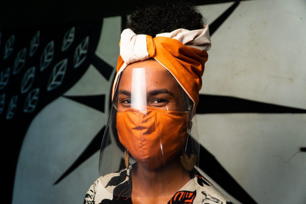 Turbante Protetor Black Lives Matter, em Parceria com a Trama Inventiva