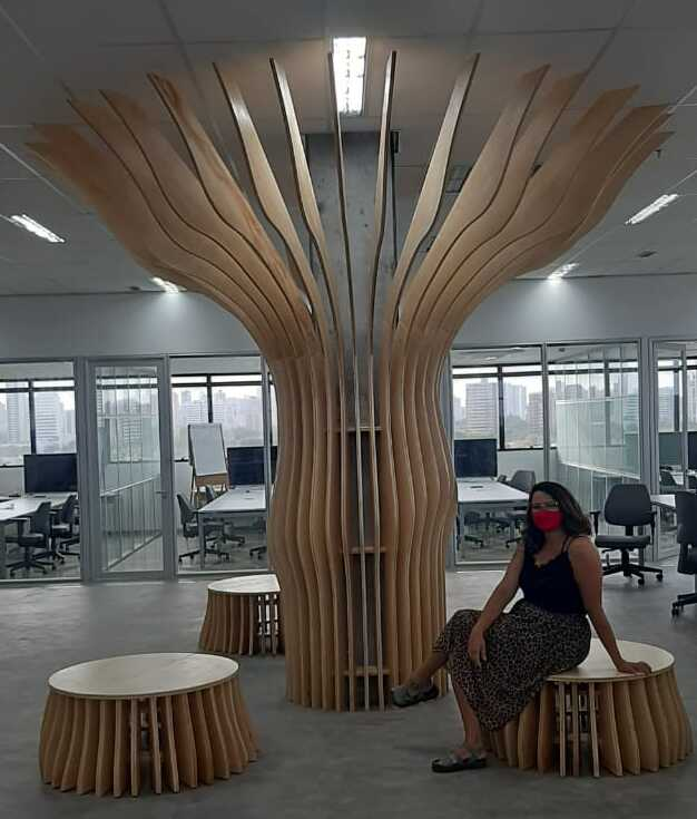 Árvore Generativa, SENAI, Recife-PE, 2020